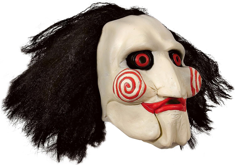 Máscara SAW JIGSAW con pelo sintético - Perfecto para carnaval y ...
