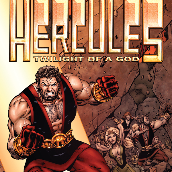 Hercules: Twilight of a God (2010) (Issues) (4 Book Series) (Hercules And The Twilight Of The Gods)