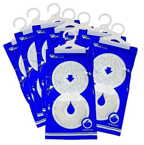 Confezione risparmio di 8 buste anti-umidità per ambienti 235 gr a ...
