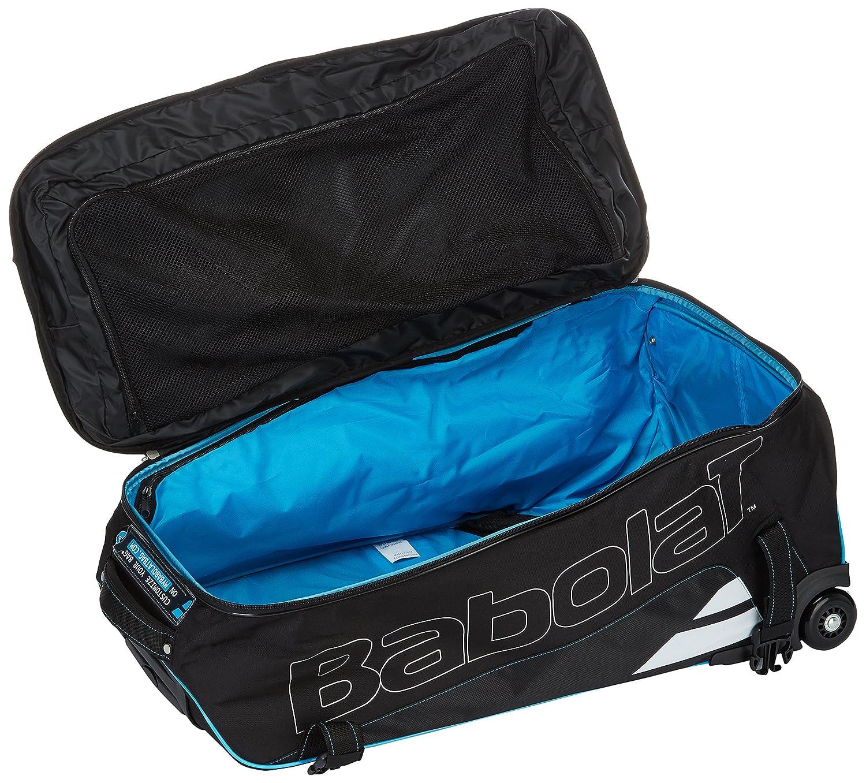 1d4dc84cd2f3 Amazon.com   Babolat-Xplore Travel Tennis Bag Black and  Blue-(3324921356365)   Sports   Outdoors