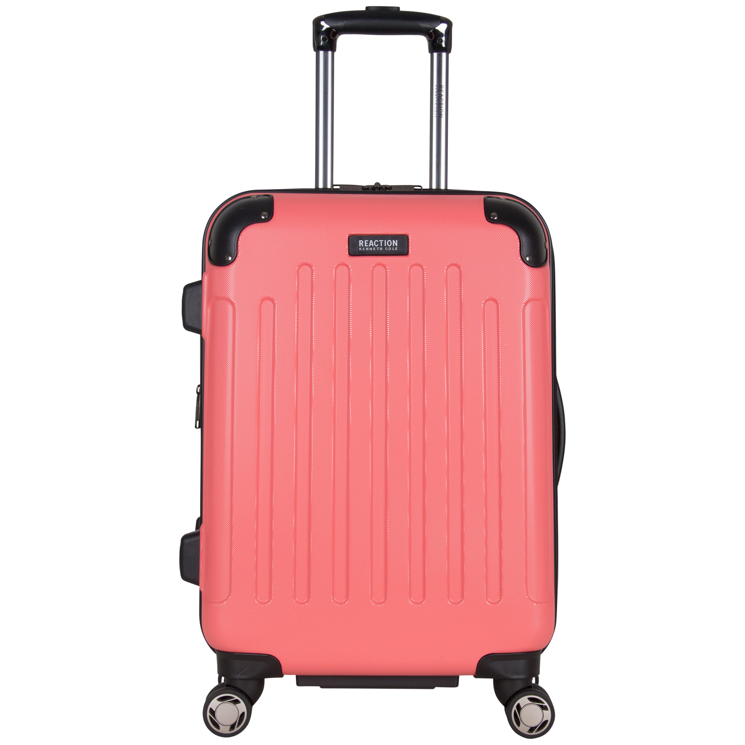 Kenneth Cole Reaction Renegade 20'' Hardside Expandable 8-Wheel Spinner Carry-on Luggage, Coral
