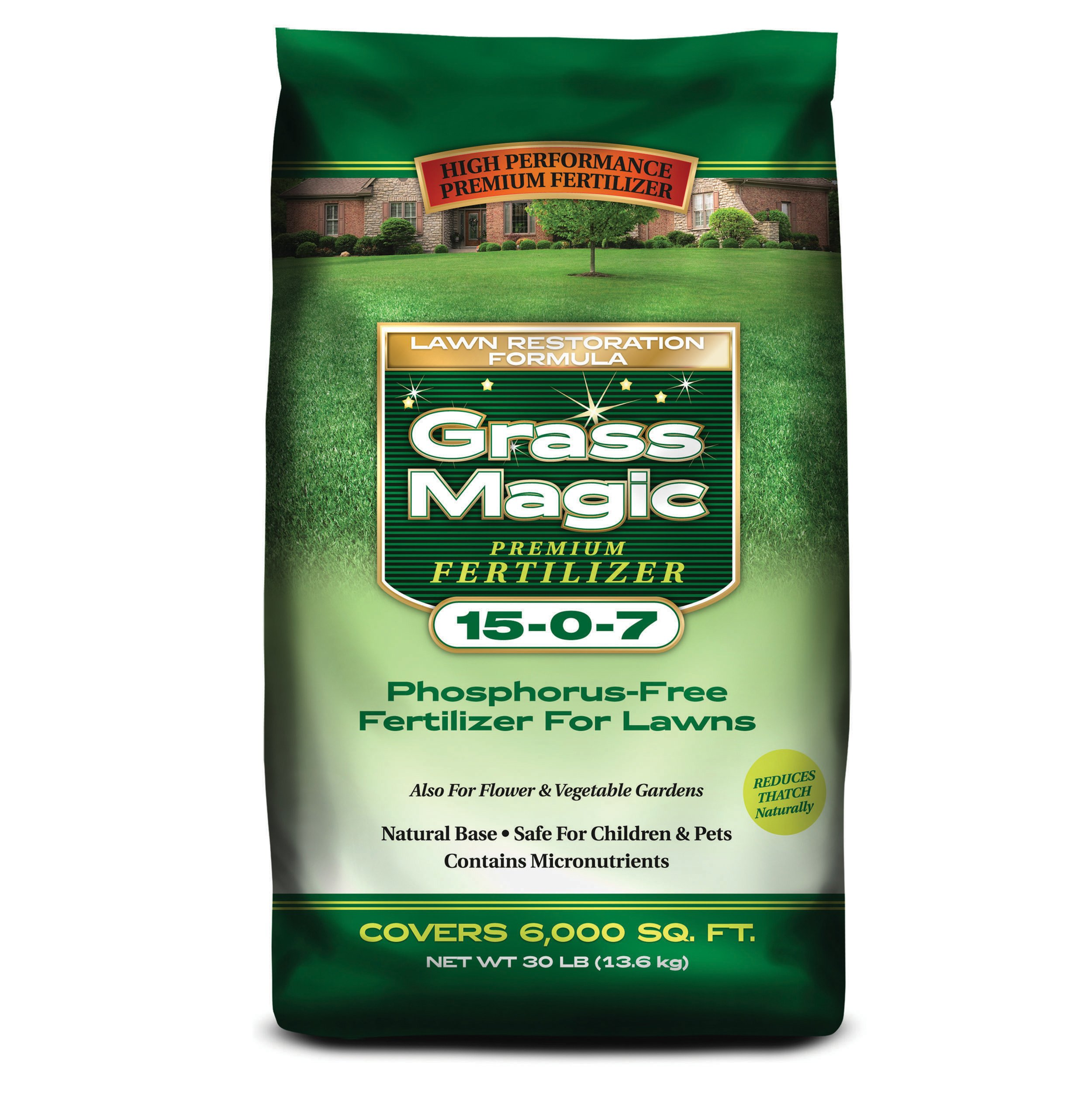 Prestige M150730 15-0-7 Grass Magic, 30-Pound