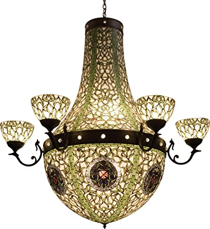 Meyda Tiffany 38465 Grand Tulip Medallion Collection 13-Light Chandelier 542aa016a