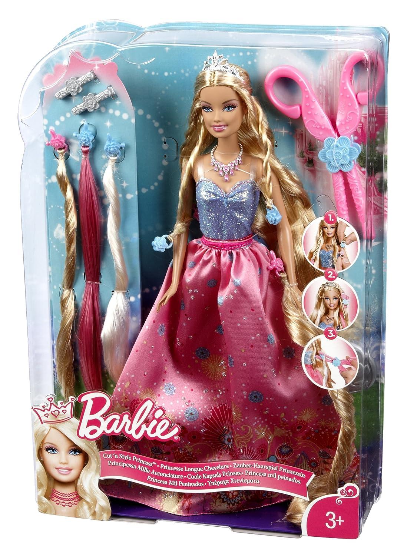 Barbie cut n style princess - Barbi princesse ...