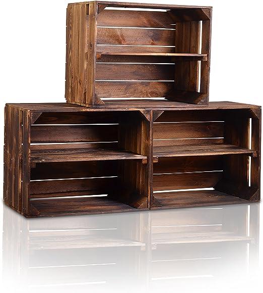 Chiccie - Caja de madera en estilo vintage, diferentes tamaños ...