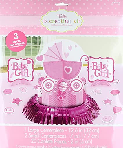 Image Unavailable Not Available For Color Amscan Sweet Birthday Girl 1st Table Decorating Kit