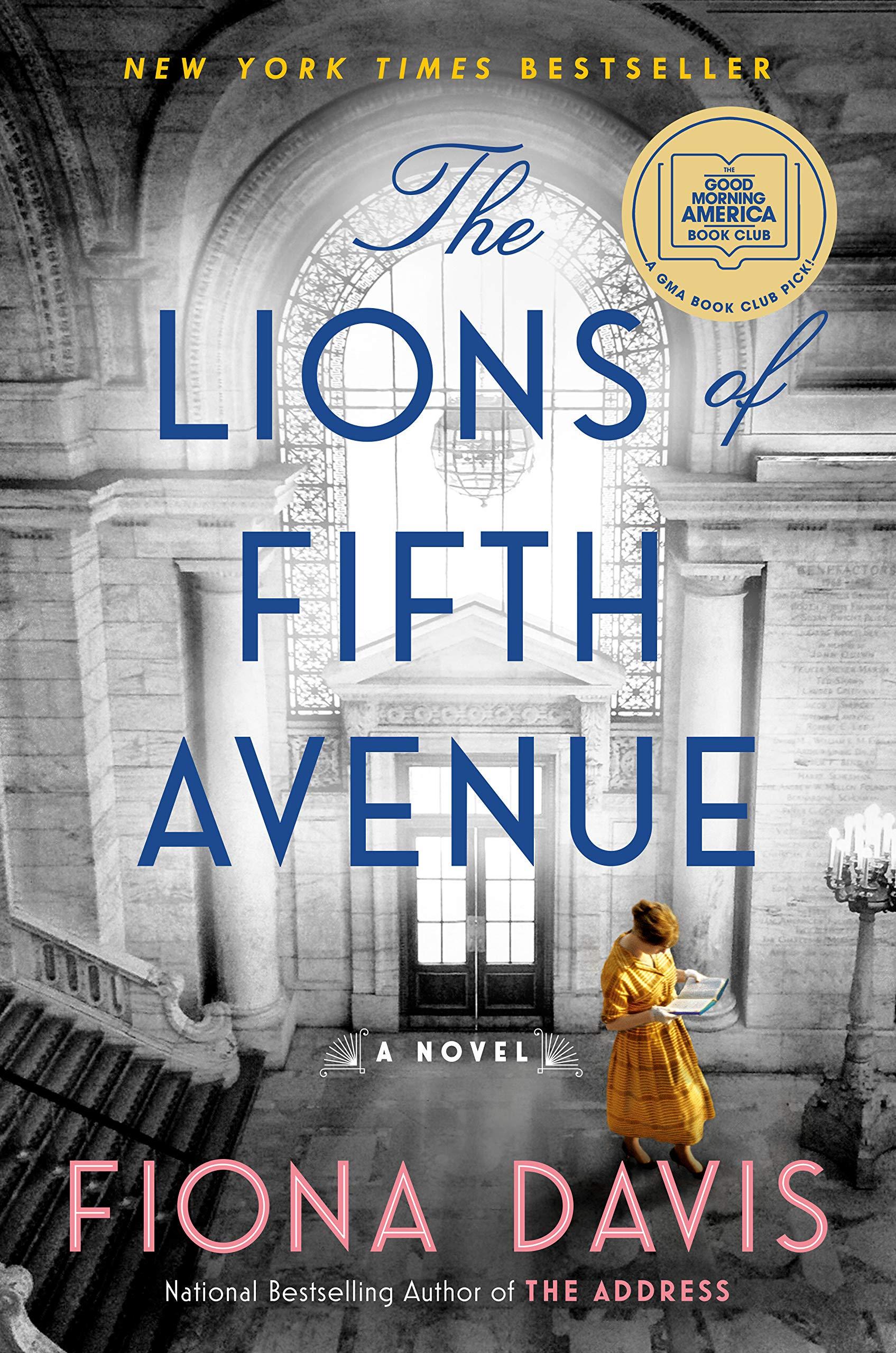 The Lions of Fifth Avenue: A Novel: Davis, Fiona: 9781524744618:  Amazon.com: Books