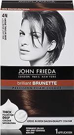 John Frieda Precision Foam Hair Colour, Dark Natural Brown 4N, 2