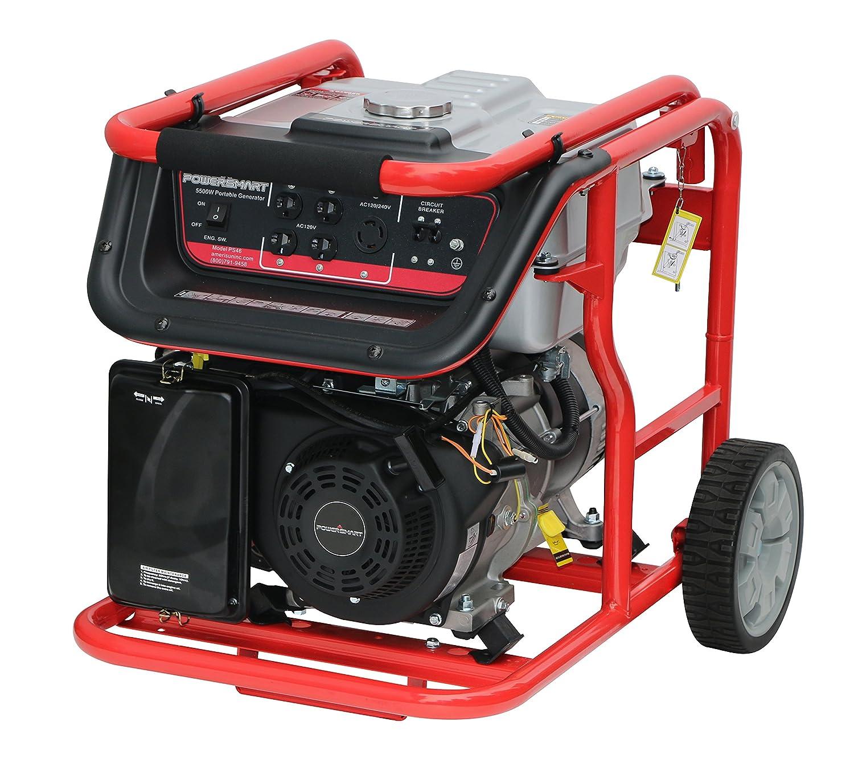 Powersmart Power Smart Ps46 5500w Portable Prime Genset Pr6500cl 5000watt Generator With A 292cc Engine Garden Outdoor