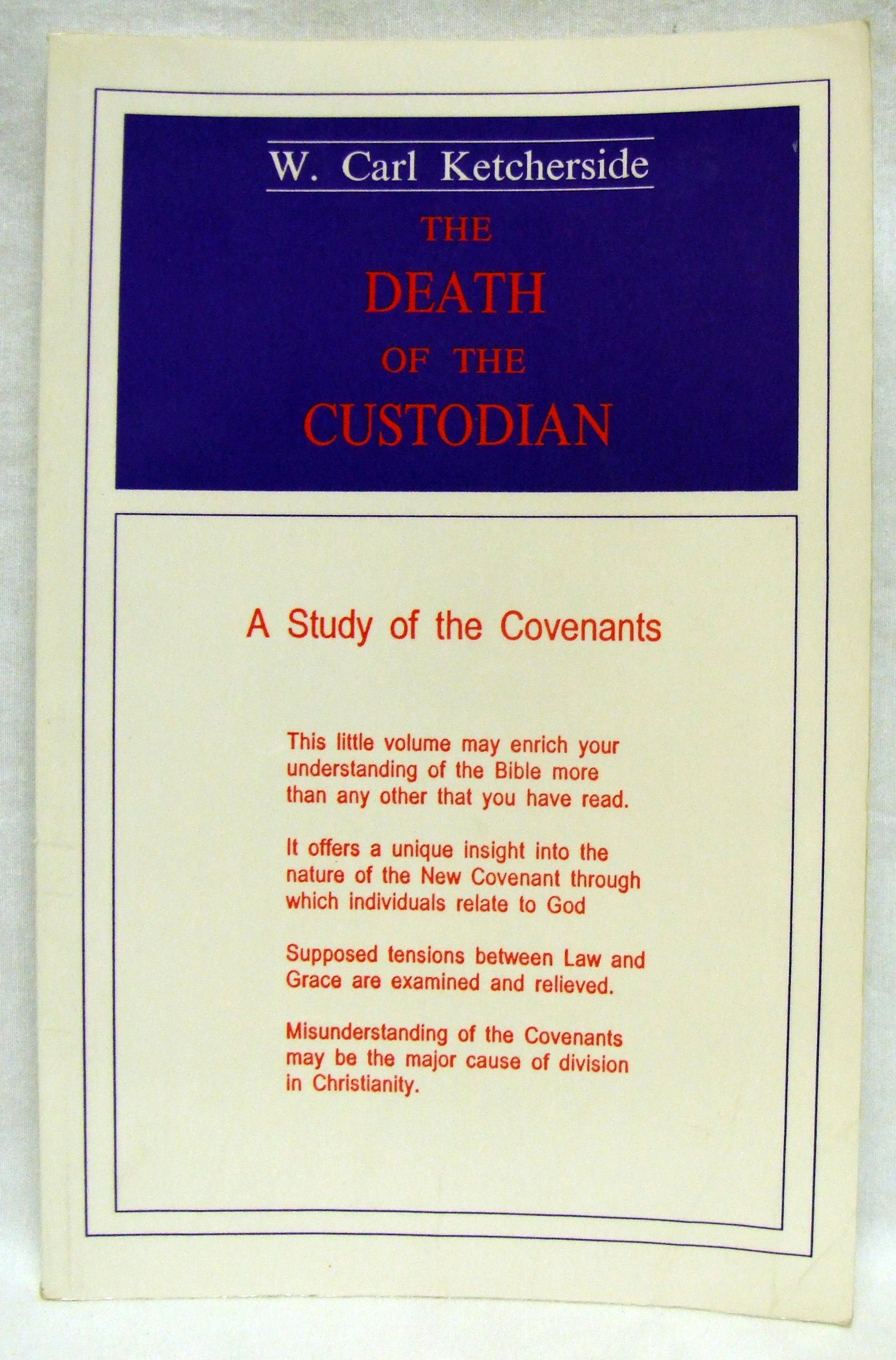 The Death of the Custodian