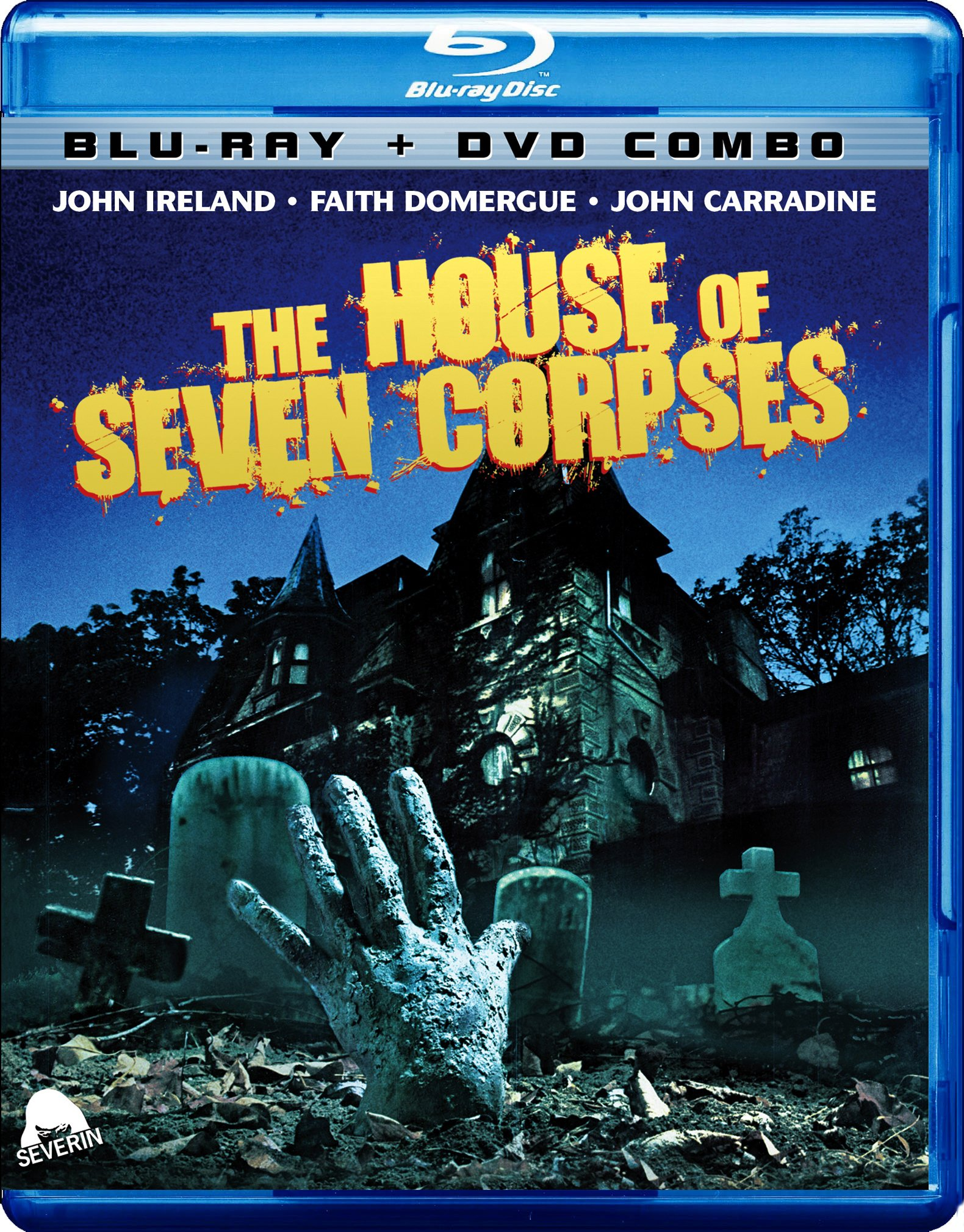 The House of Seven Corpses (With DVD, Widescreen, Dolby, 2PC)