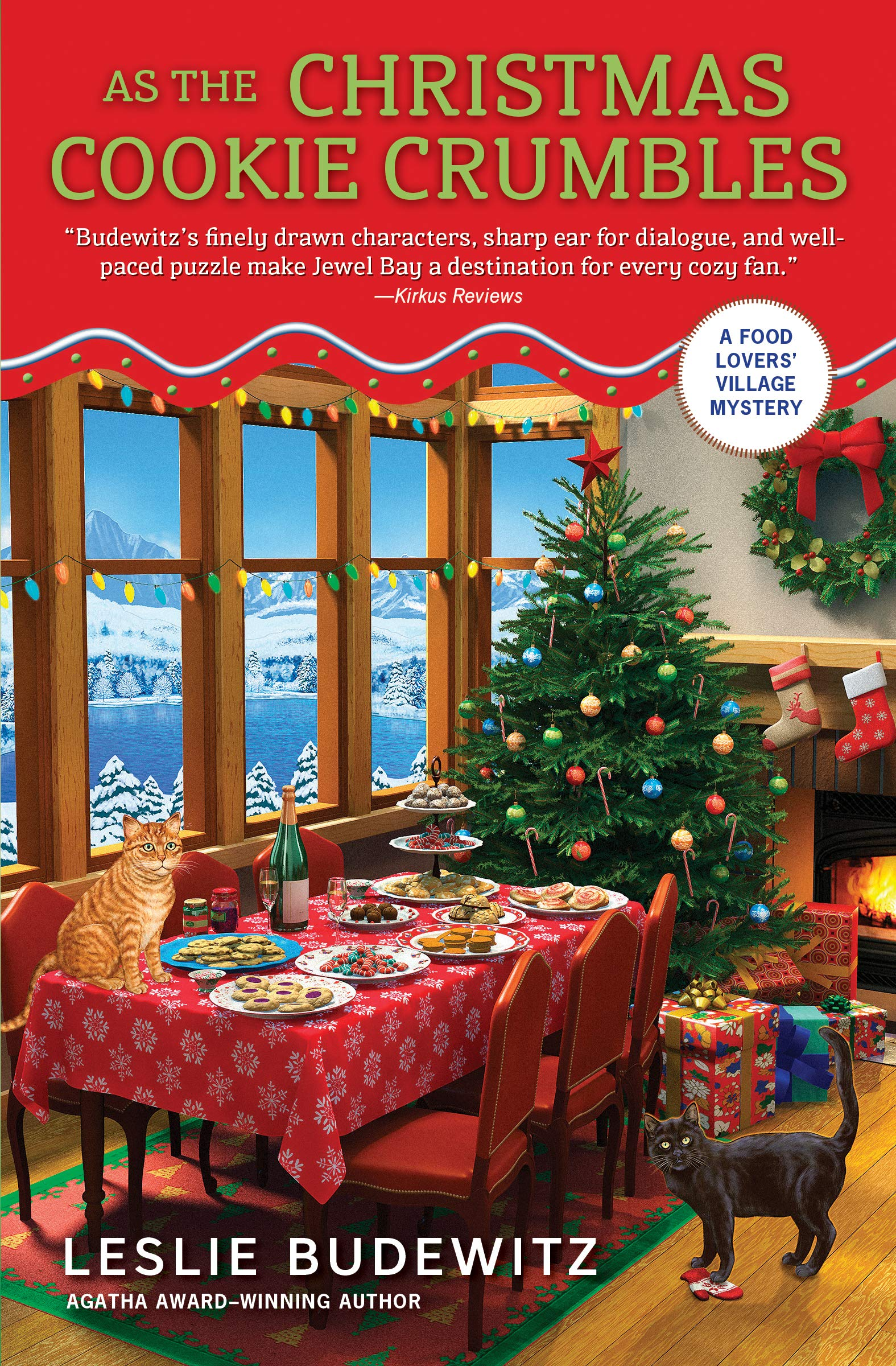 Amazon.com: As the Christmas Cookie Crumbles (A Food Lovers\' Village ...