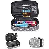 Skycase Toiletry Bag - Portable Travel Makeup Bag Cosmetic Bag for Women/Men, Black