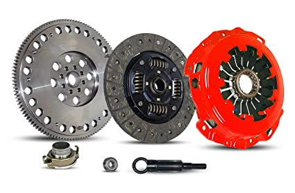 Clutch And Flywheel Kit Works With Subaru Impreza Baja Forester 9-2X Turbo Xt Aero