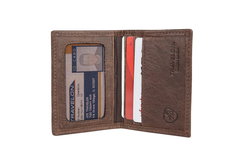 RFID Blocking Executive Organizer Passport Case Travelon 82291-500