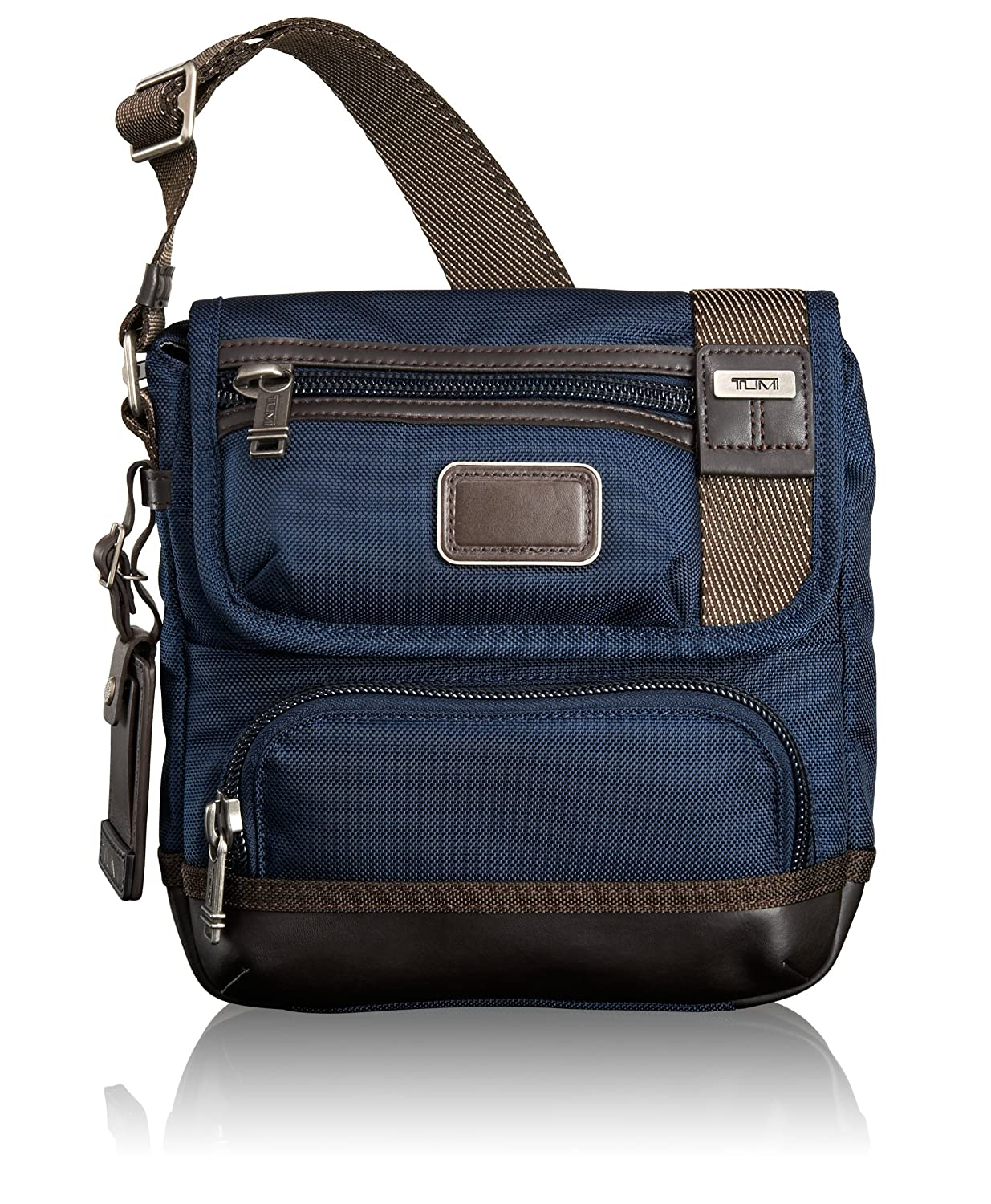 Amazon.com | Tumi Alpha Bravo Barstow Crossbody, Navy, One Size | Messenger  Bags