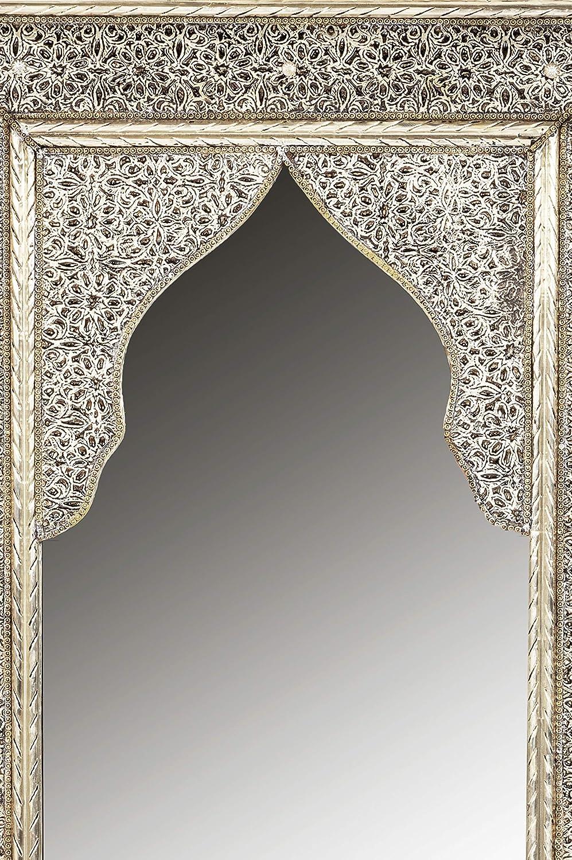 Orient Fadia - Espejo de Pared (80 cm, con Marco de Madera ...
