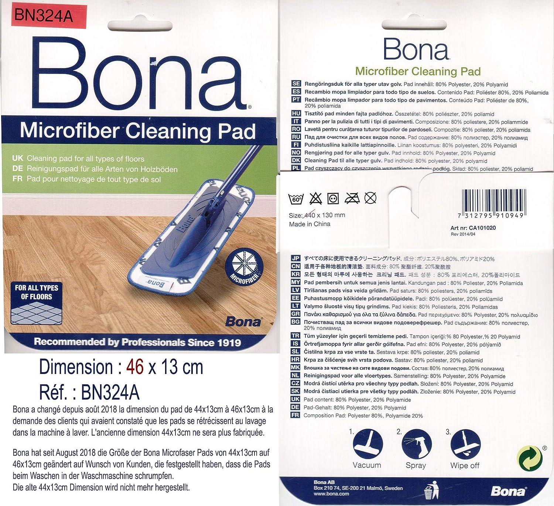 Bona Microfibre Cleaning Pad (BLUE PAD) Product Code; CA101021 CA101020
