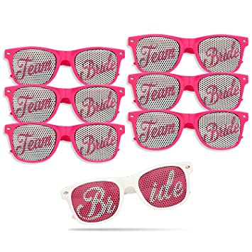 Amazon.com: Bachelorette Party Novelty Sunglasses - Party Favor ...