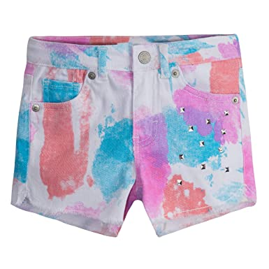 2829dd31 Image Unavailable. Image not available for. Color: Levi's Girls' Denim  Shorty Shorts