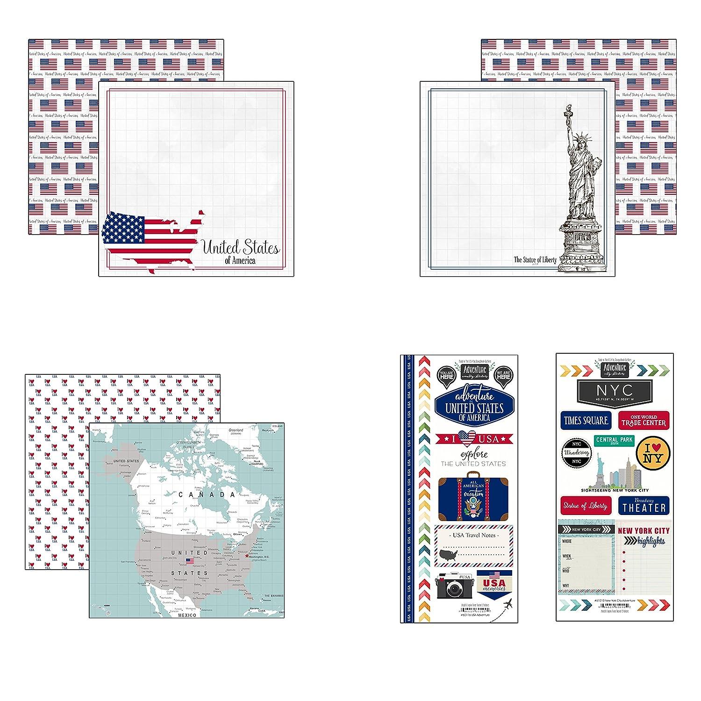 Scrapbook Customs USA Adventure Scrapbook Kit
