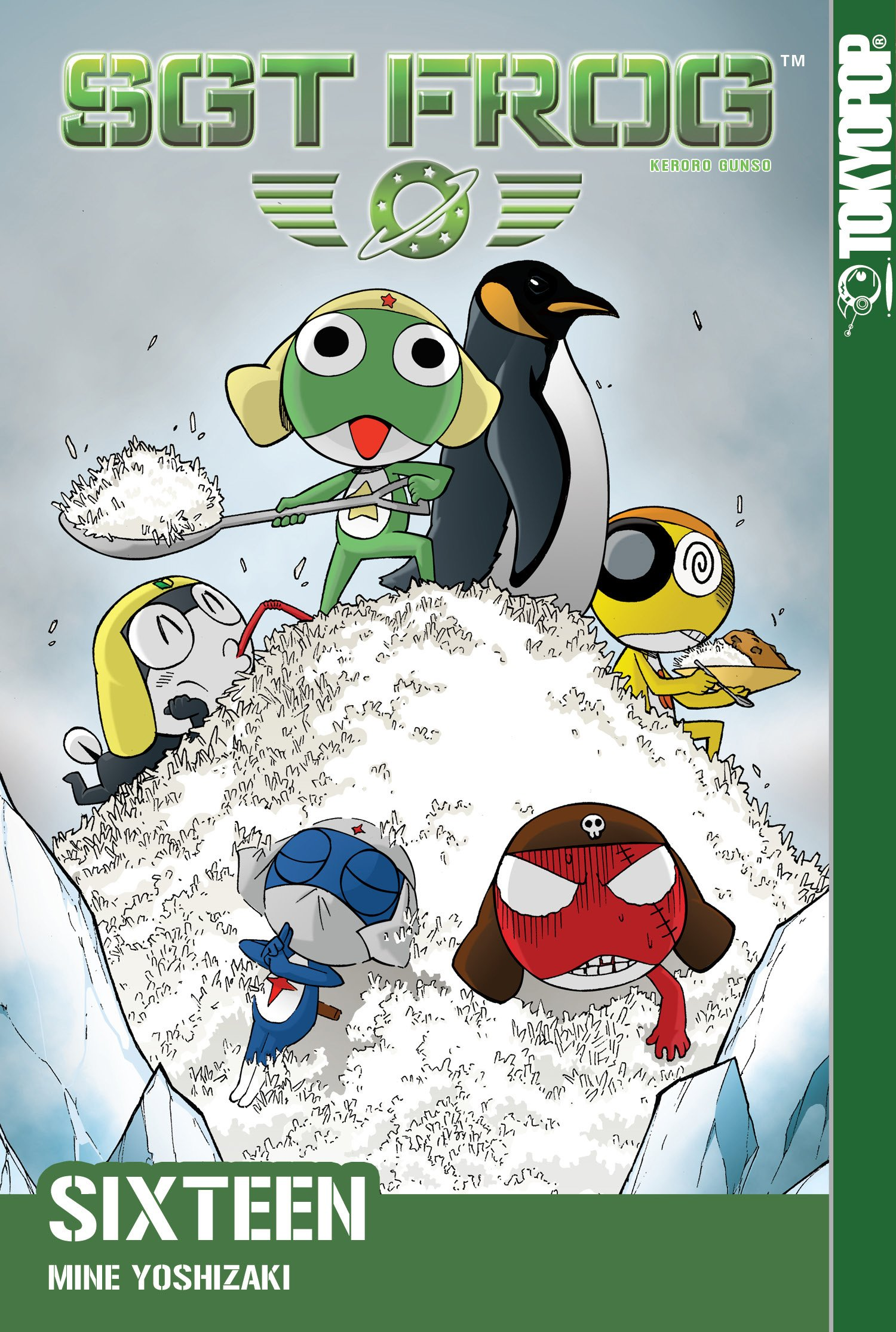 Amazon.com: Sgt. Frog, Vol. 16 (9781427814623): Mine ...