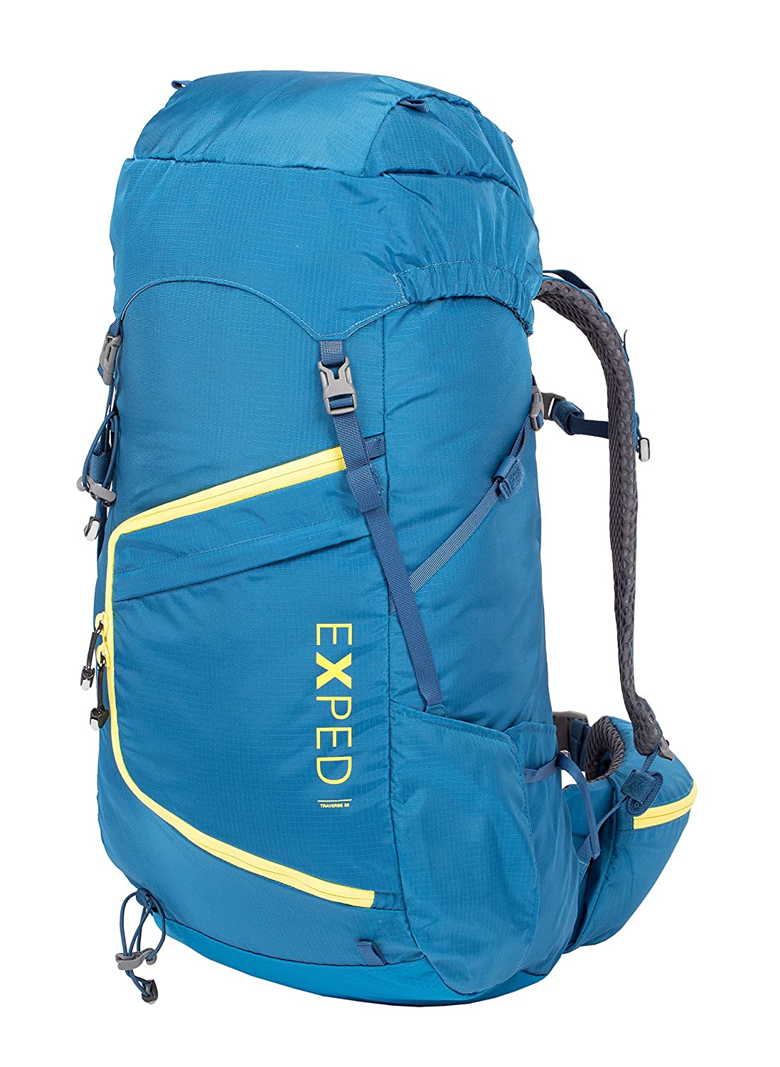Exped Traverse 35 S-M Deep Sea/Radiant Gelb