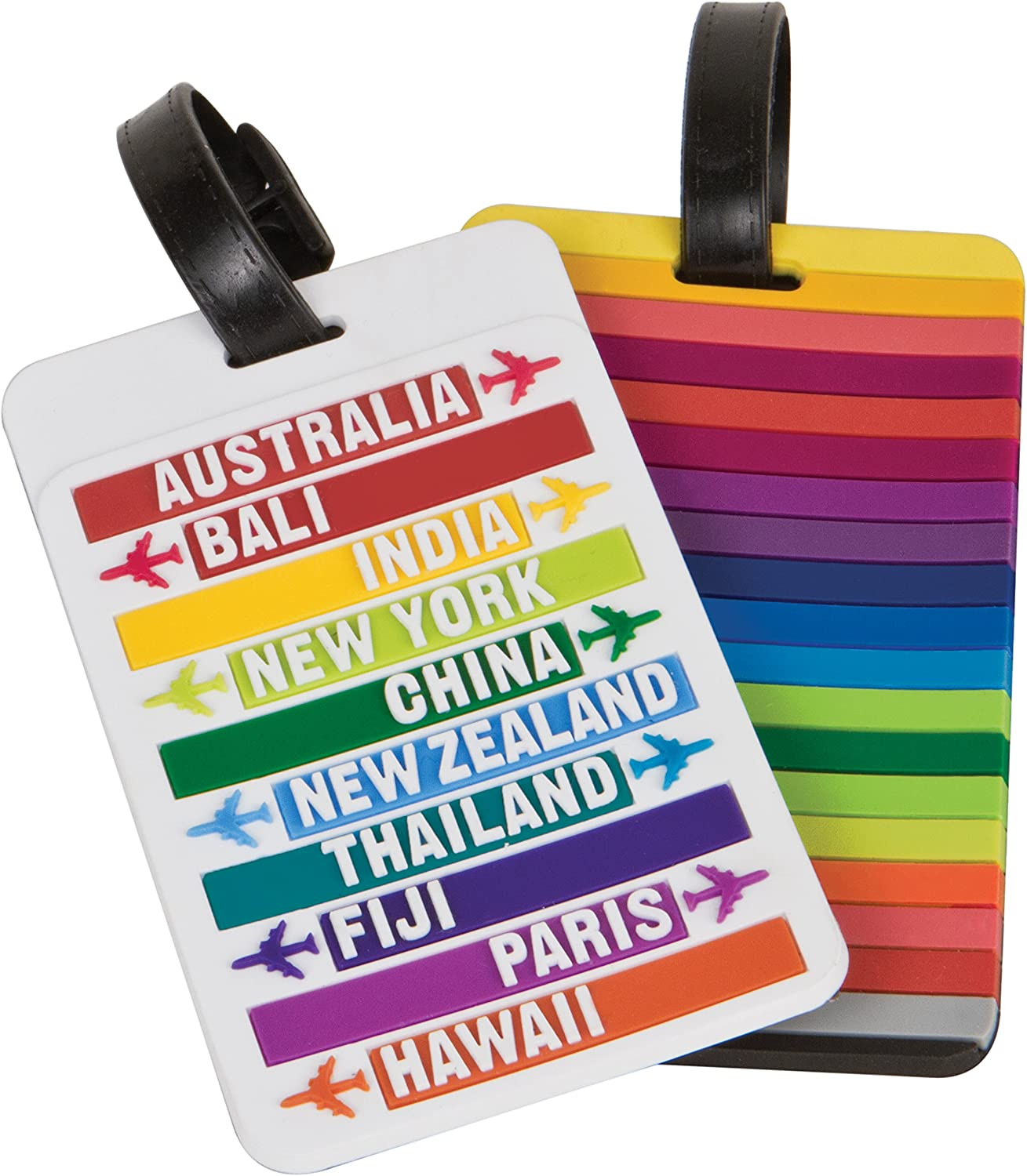 One Size One-Color Travelon American Flag Luggage Tag One-Color