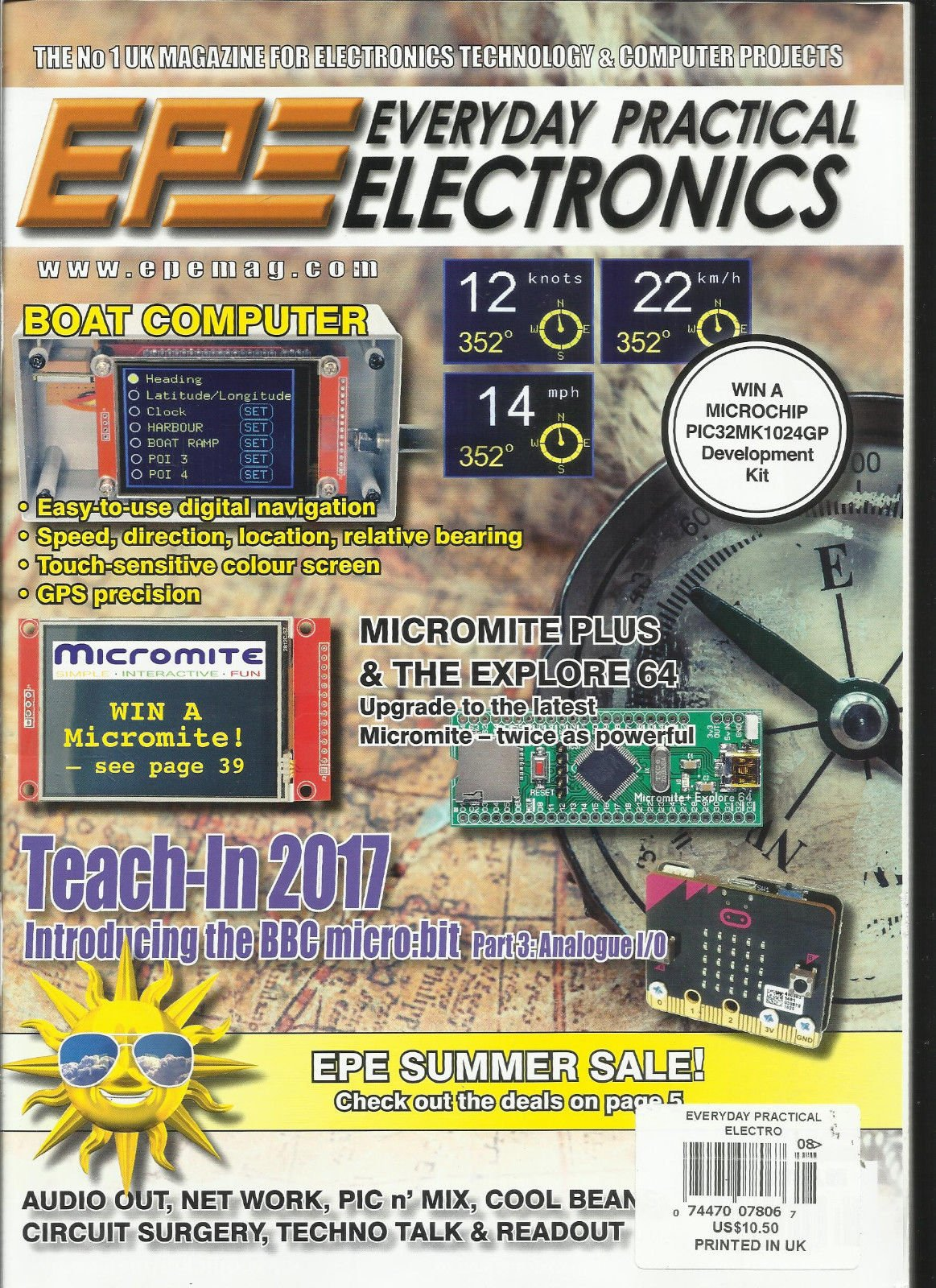 EPE EVERYDAY PRACTICAL ELECTRONICS, AUGUST, 2017 VOL. 46 NO.8 PRINTED IN UK by Generic