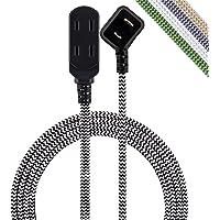 Cordinate Designer 39986 - Cable de extensión con salida polarizada, Rosado claro, Cable de 244.00 cm y enchufe de…