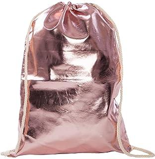 Turnbeutel im edlen Metallic Rosa Fitnessbeutel