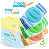 Amazon Price History for:Baby Knee Pads for Crawling (3 Pairs) - Adjustable Breathable Waterproof Safety Protector for Babies, Toddlers, Infants, Boys, Girls, Kids