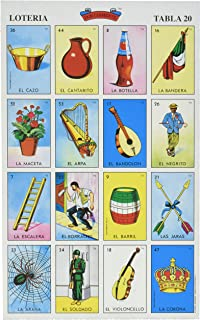 photograph about Printable Loteria Mexicana identified as : La Mexicana Loteria Mexicana 10 Tablas Mexican