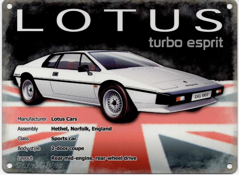 Lotus Cars advertising sign