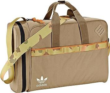 5cc0731bea0a adidas Airliner 2.0 c Originals Sport Bag (Adults) Camouflage   Black Beige  St Tarnish