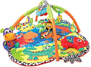 Playgro Jingle Jungle Music and Lights Gym, Multicolour