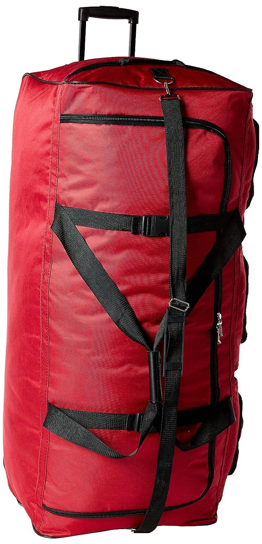 Rockland Luggage 40 Inch Rolling Duffle Bag, Black, X-Large Fox Luggage PRD340-BLACK