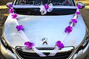 Wedding car decorating kit image collections wedding decoration ideas amazon happy days wedding car decoration kit wide white happy days wedding car decoration kit wide junglespirit Gallery