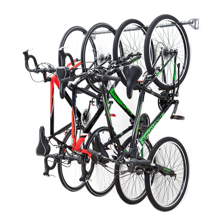Amazon.com: Monkey Bars Bike Storage Rack, Stores 4 Bikes: Home U0026 Kitchen