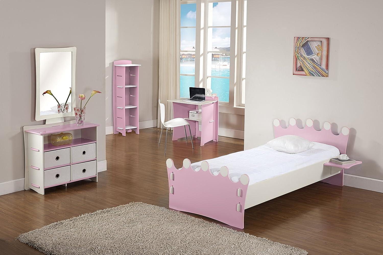 Legare Furniture Kids Bookcase Pink And White 48 Inch X 16 12 Amazonca Home Kitchen
