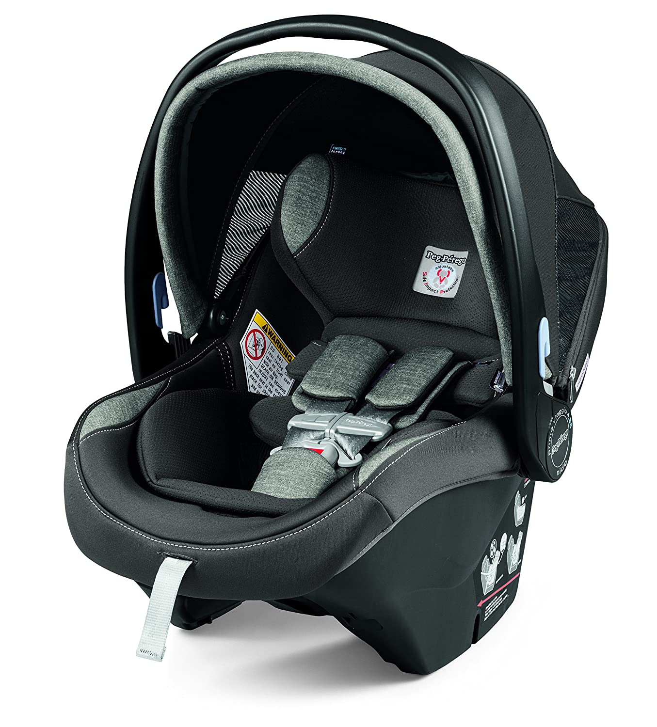 Peg Perego Primo Viaggio Nido Car Seat with Load Leg Base, Atmosphere