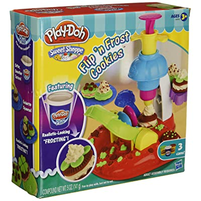 Play-Doh Sweet Shoppe Flip 'N Frost Cookies Set: Toys & Games