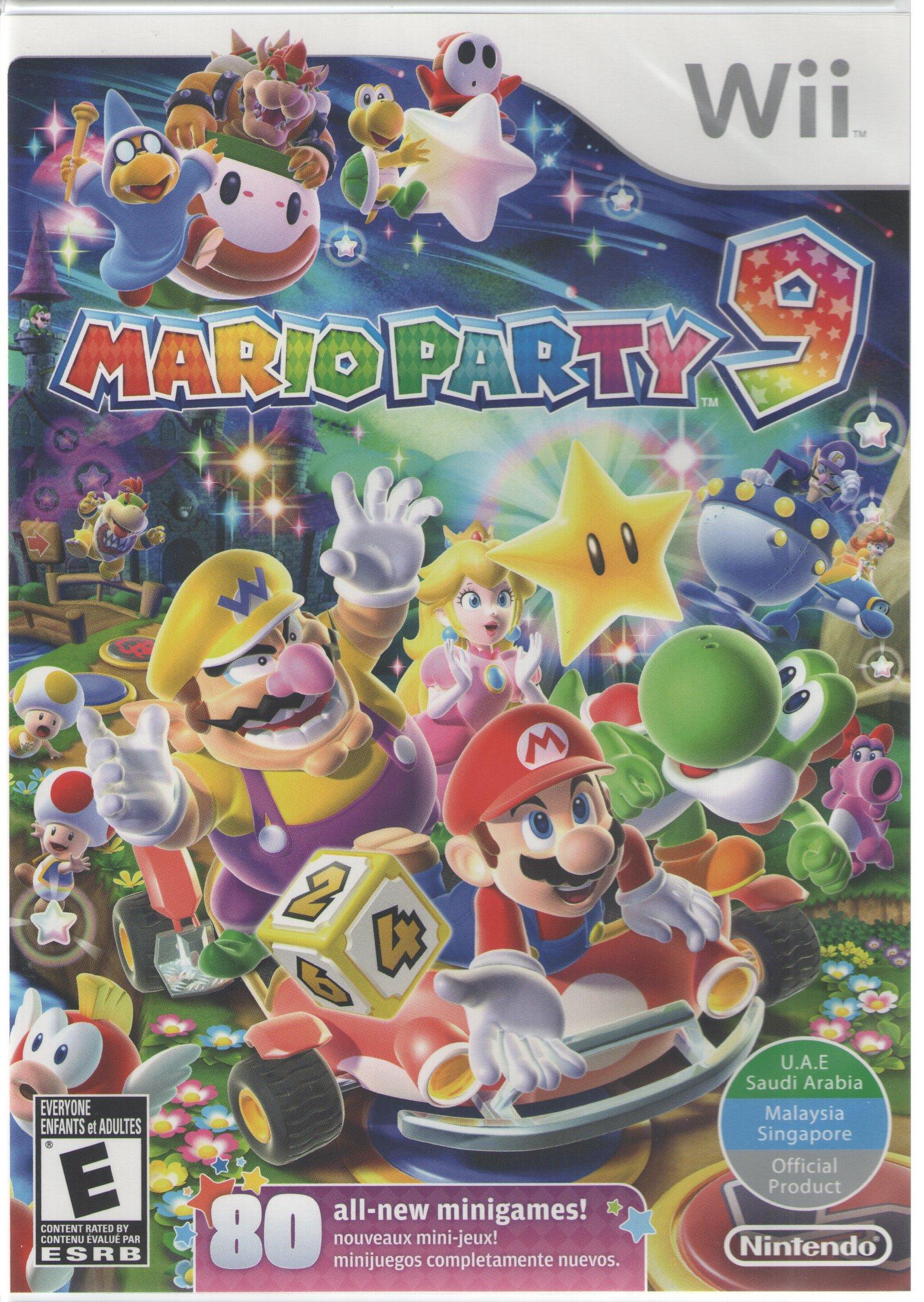 Amazoncom Mario Party 9 World Edition Nintendo Wii Video Games