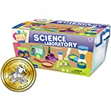 Kids First Science Laboratory Kit | STEM | Full-Color Illustrated Experiment Manual | Ages 3+ | Preschoolers and…