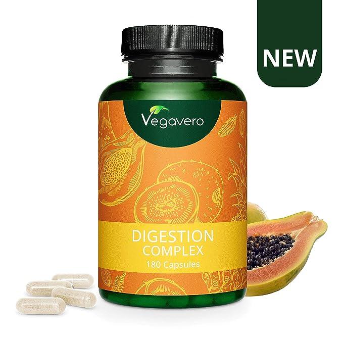 Digestion Complex Vegavero® | 100% Vegetal | Enzimas ...