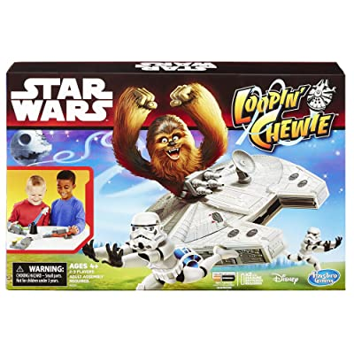 Star Wars Loopin' Chewie Game: Toys & Games