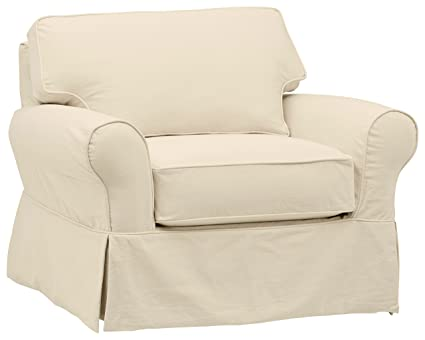 Amazon.com: Stone & Beam Carrigan Modern Slipcover ...
