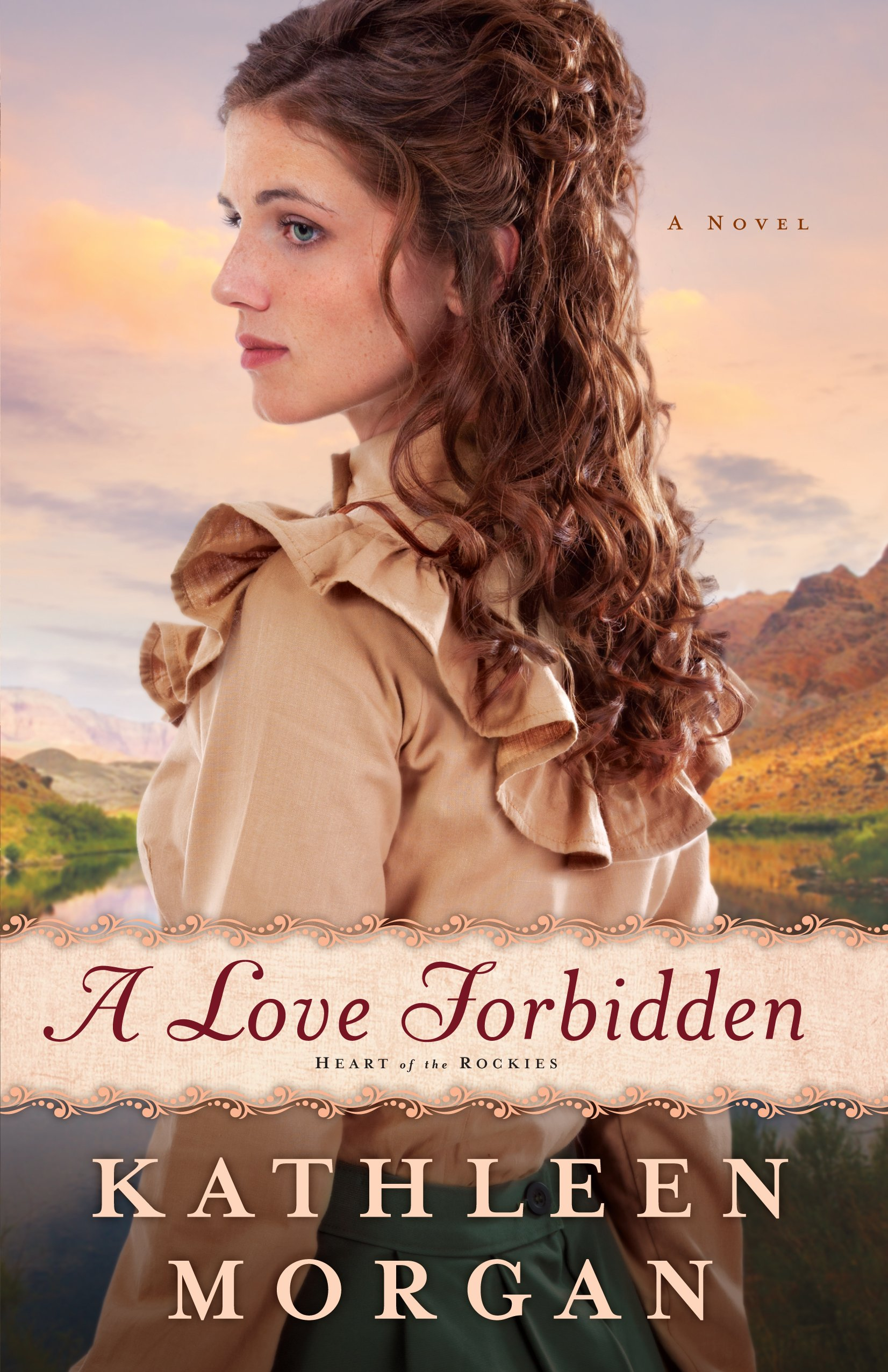 Download A Love Forbidden (Heart of the Rockies: Thorndike Press Large Print Christian Historical Fiction) ebook