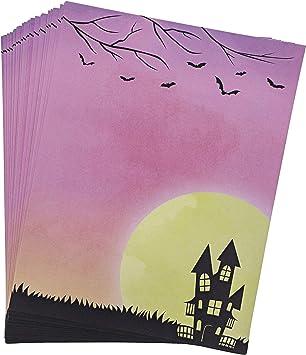 Amazon.com: Paper Junkie Halloween Papelería Letterhead ...