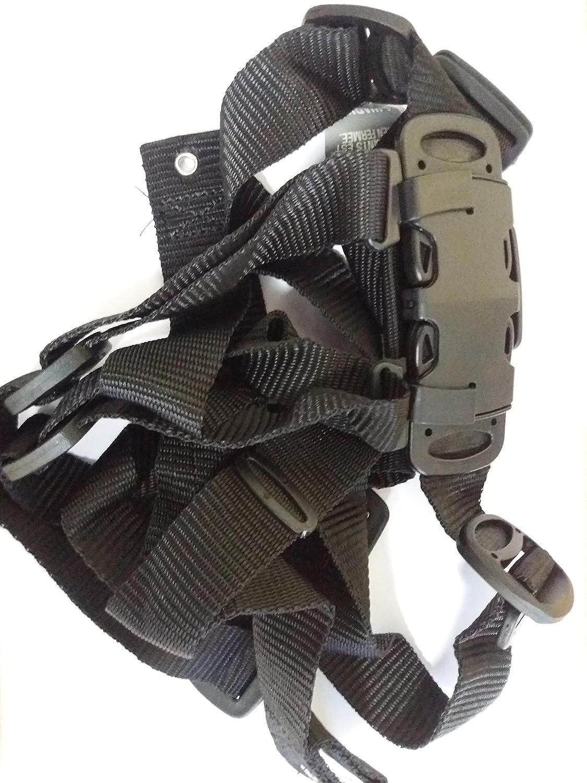 Peg Perego Black No. 85-point Seatbelt for Pliko P 3